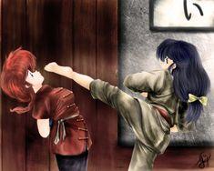 Ranma y Akane ~     Fansite:http://eluniversoderanma.wix.com/eluniversoderanma - Todo sobre Ranma ½!      Tags: eluniversodeRanma, Ranma 1/2, Akane, Fanart, Ranma Saotome, Ranma ½, Rumiko Takahashi (C) Zerochan