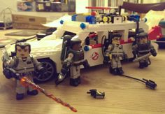 My Lego Ecto-1 with Ghostbusters Minimates