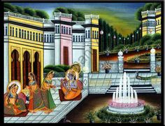 rajasthani paintings - MySearch