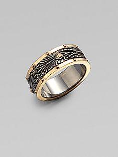 Stephen Webster - Gold-Plated Sterling Silver Spinner Ring
