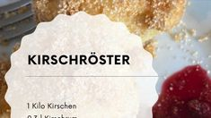 Rezept Kirschröster - Weichselröster Rum, Food, Cherries, Food Food, Recipies, Essen, Meals, Rome, Yemek