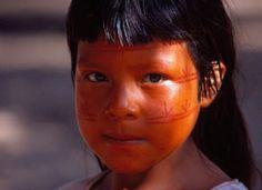 pequeno indígena brasileiro