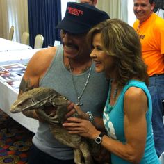 Linda Blair and Danny Trejo at Days of the Dead--Indianapolis 2013 Linda Blair, Danny Trejo, Day Of The Dead, Man, History, Day Of Dead, Historia
