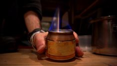 How To Turn A Beer Can Into The Only Camping Stove You'll Ever Need. One of the best gifts I've ever received on my travels is a stove made with nothing but a drinks can and a knife. In this video, we're going to learn how to make it.  The stove runs on alcohol, of which the most common source is medical alcohol from your local pharmacy. For information on finding fuel for the stove, visit http://zenstoves.net/Stoves.htm#Fuels  It goes without saying that fire can be dangerous. Be respectful…