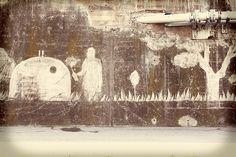 """El """"graffiti net"""" del @movimentr està inspirat en la R de Reciclar Graffiti, Snow, Painting, Outdoor, Art, Outdoors, Art Background, Painting Art, Kunst"""