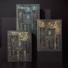 Awapuhi Gift Sets from Paul Mitchell 2015....really beautiful laser cut…