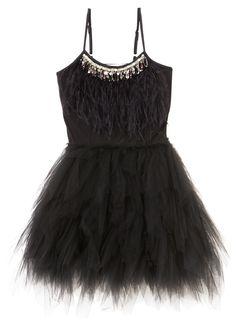 SWAN QUEEN TUTU DRESS - BLACK