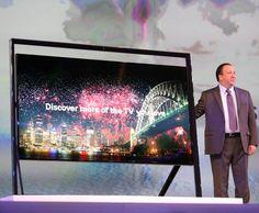 Samsung's massive 85-inch 4K Ultra HD TV.