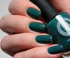 Sassy Shelly: Nails and Attitude: I Love Nail Polish ~ Simply Adorablue & A Touch Of Mint