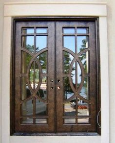 doors and windows | ... custom made Premier Wrought Iron Doors, please click here for details