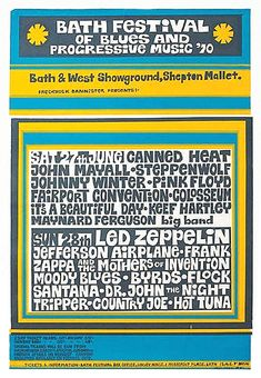 Hippie Posters, Rock Posters, Music Posters, Maynard Ferguson, Fairport Convention, Michael Steele, John Mayall, Vintage Concert Posters, Sing For You