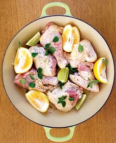 Pečené kuře na citrusech - DIETA.CZ