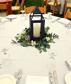50 Awesome Rehearsal Dinner Decorations Ideas – Beauty of Wedding – wedding centerpieces Hurricane Centerpiece, Lantern Centerpiece Wedding, Greenery Centerpiece, Vintage Wedding Centerpieces, Wedding Lanterns, Flower Centerpieces, Wedding Decorations, Centerpiece Ideas, 50th Anniversary Centerpieces