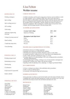 welder resume example will give ideas and provide as references your own resume there are - Sample Of A General Resume