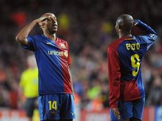 Thierry Henry & Eto