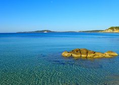 The #sea of #PuntaMolentis in the south of #Sardinia, Italy.  #photo by #LaVilladelRe #hotel