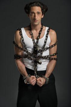 Adrien Brody in Houdini (2014)