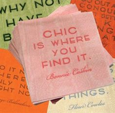 chic is everywhere