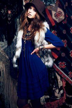 Free Peoples September Lookbook Focuses on Gypsy Style I Love this jacket :))