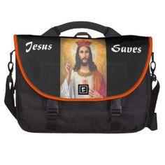 Sac chrétien 2 d'ordinateur portable de Jésus Sac Ordinateur Portable