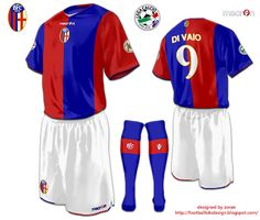 football kits design: Bologna F.C. 1909 fantasy kits