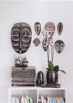 African art. African masks. African home decor:: More