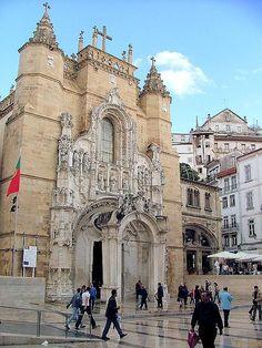 Igreja de Santa Cruz, Coimbra http://aguiaturistica.blogspot.pt/