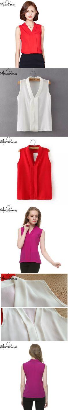 Newest Office Shirts Summer Style Chiffon Shirt Women Blouses Tops Blusas Mujer Elegant Blusas 2017 Casual Women's Shirt