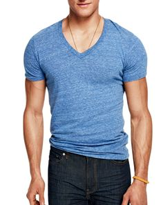 The perfect V-Neck. The 8 Summer T-Shirts All Men Should Own