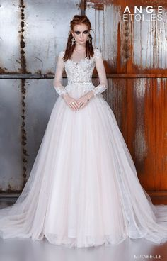 Wedding dress MIRABELLE, wedding dress A-line, wedding dress ball gown, wedding dress long sleeves We are glad that you are interested in