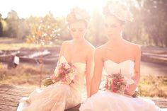 romantic wedding hair makeup inspiration 2