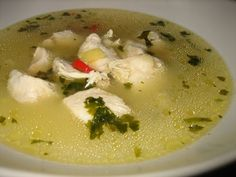 Chicken broth recipe | Serbian CookBook