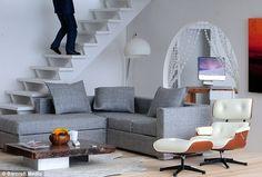 "Dollhouse ""modern living room"""