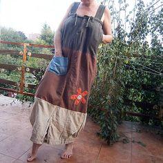 Dymiacarieka / Trojľanové dlhé šaty