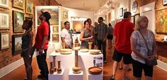 5 Tips for a Great Short North Gallery Hop! Gallery Hops take place in Columbus the first Saturday of every month.