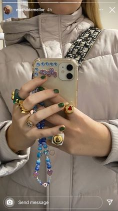 Cute Jewelry, Jewelry Accessories, Nail Ring, Look Fashion, Spice Things Up, Piercings, Phone Cases, Jewels, Random