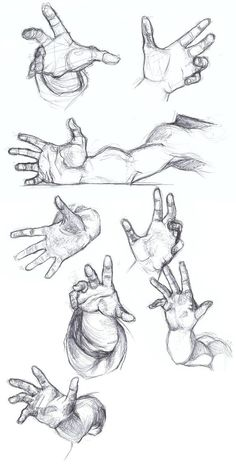 Super How To Draw Hands Anime Design Reference Ideas – Zeichnen – drawings Hand Drawing Reference, Art Reference Poses, Design Reference, Anatomy Reference, Anatomy Study, Hard Drawings, Art Drawings Sketches, Sketches Of Hands, Pencil Drawings