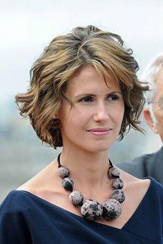 'Elle' elegeu Asma AL-Assad a primeira-dama mais elegante em 2008   Portal Arabesq