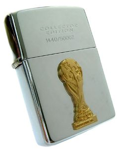 Zippo Lighter - France World Cup