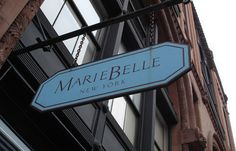 Marie Belle. Best hot chocolate in New York City, maybe even the world.