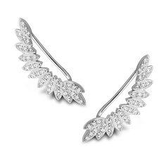 Znalezione obrazy dla zapytania nausznice skrzydła Diamond, Bracelets, Silver, Jewelry, Jewlery, Jewerly, Schmuck, Diamonds, Jewels