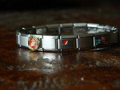 usmc italian charm bracelet. i love it