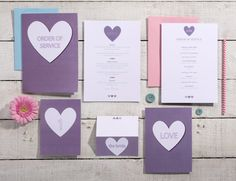 Love Collection | On the day - https://www.etsy.com/uk/listing/463339053/love-wedding-stationary-set-save-the?ref=shop_home_active_20