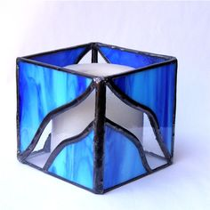 Stain glass candle holder I LOVE GLASS!! Pinterest Glass