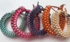 #leather #bracelet #DIY