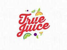 48 Ideas for fruit juice logo branding Juice Logo, Juice Branding, Logo Branding, Fruit Logo, Bar Logo, Logo Inspiration, Typography Logo, Lettering, Logo Gallery