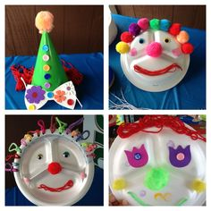 Carnival and clown themed crafts for preschoolers pinterest inspired