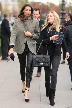 la modella mafia fashion editor street style - Vogue Paris Géraldine Saglio 2