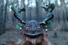 Legends of lake Baikal hand made posable Ezhin the spirit of the nature