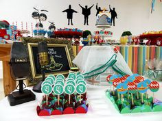.::Layouteria | Crafts::..: Festa Beatles do Raul!